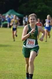 Katie finishes strong