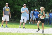 Kennedy turns the corner as parents and coaches cheer her on