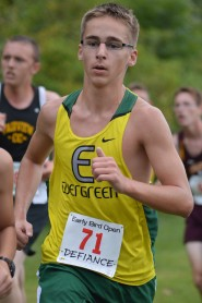 Thomas looks strong through the first mile