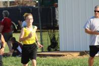 Chris pushes past a runner from Perrysburg