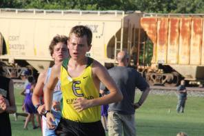 William surges past an Eastwood runner