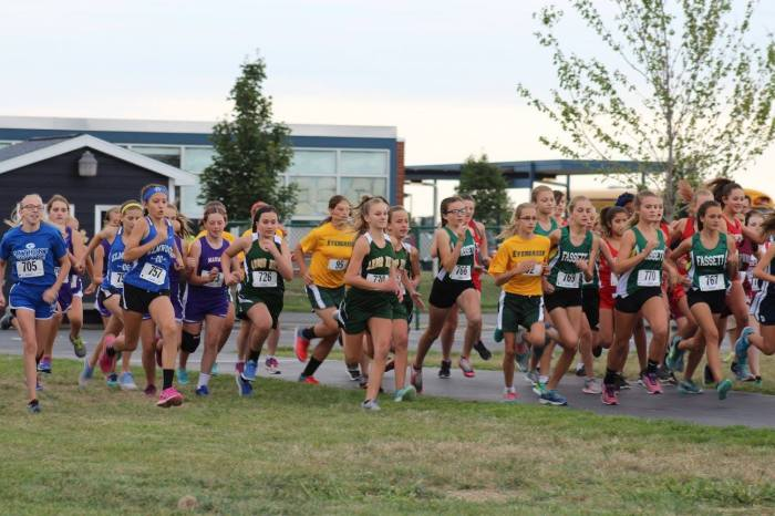 2017 Lake girls start