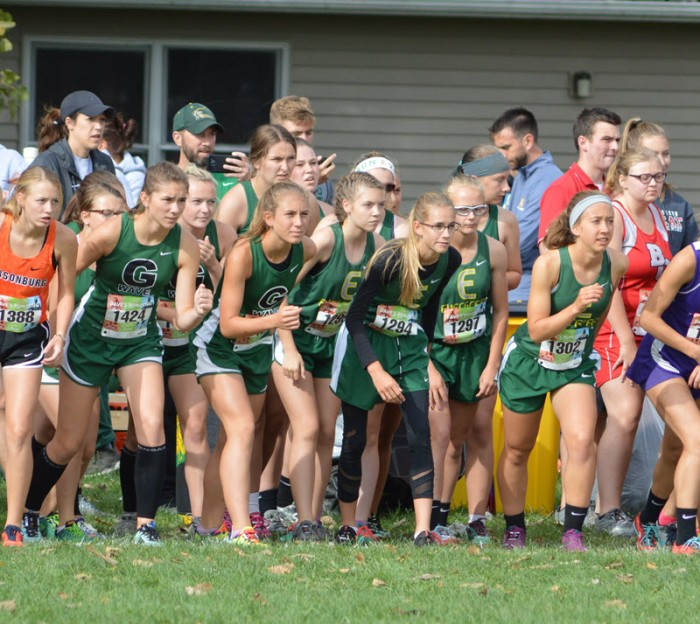 2018 Widewater girls start