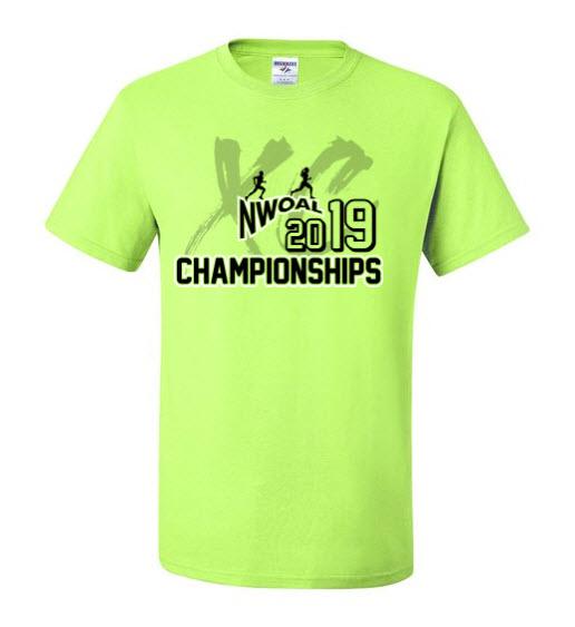 2019 NWOAL Championship tshirt